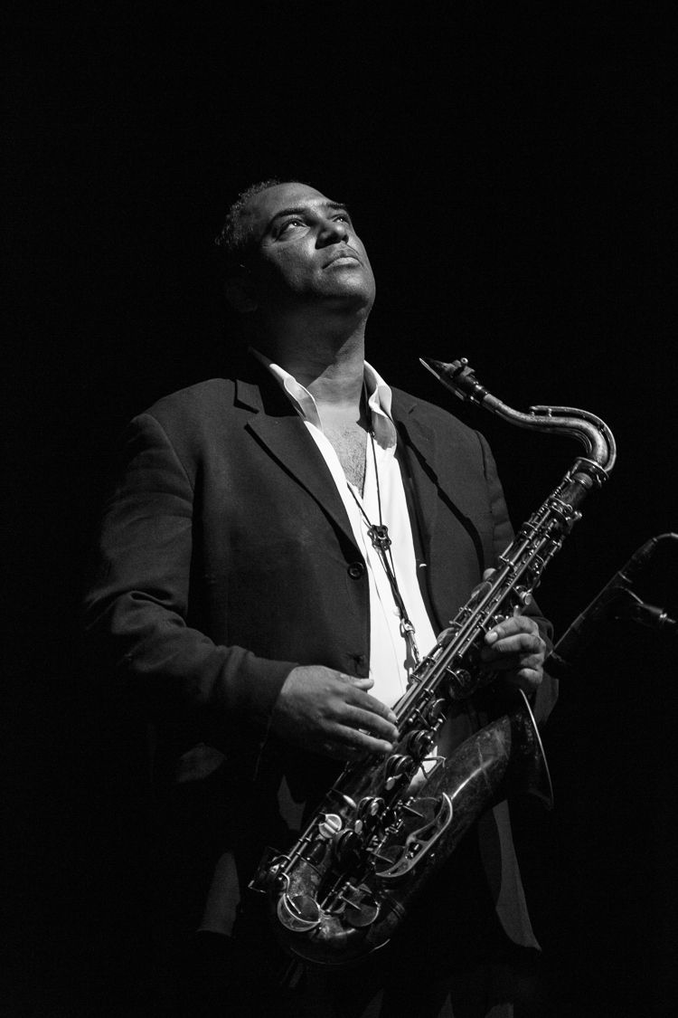 """<p>Well-known Naptown saxman Rob Dixon is one of the featured subject in the photography exhibit by Mark Sheldon featured at the Walker Theatre this month.</p> <p>""""><figcaption class="""