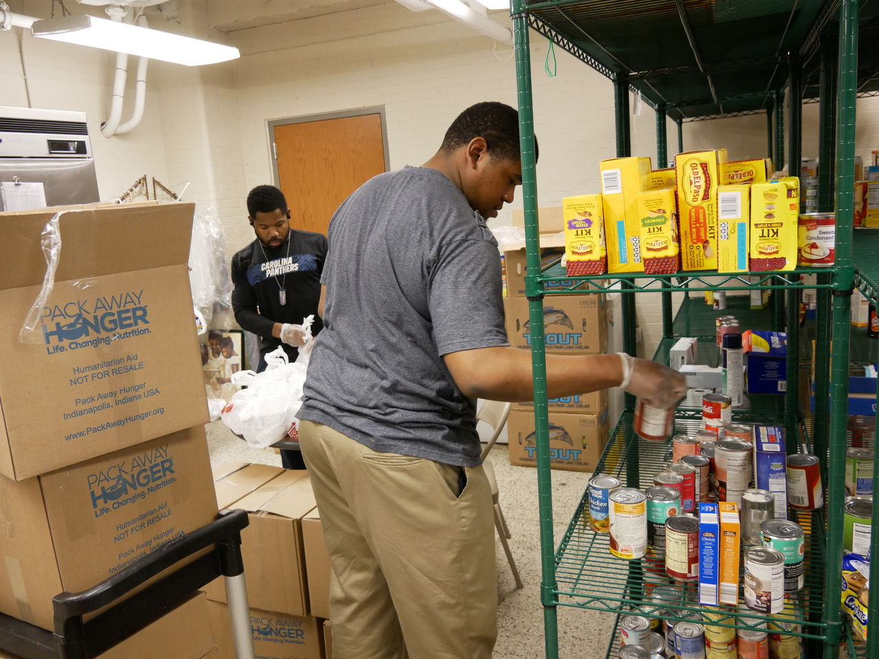 """<p></noscript>A food pantry at Edna Martin Christian Center provides necessities for Martindale Brightwood residents during COVID-19 health crisis. (Photo provided)</p> <p>""""><figcaption class="""
