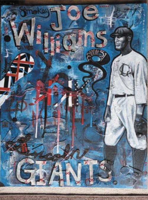 "Professional Category winner ""Smokey Joe Williams"" by Bill Cormalis Jr."