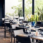 """<p></noscript>The terrace at Ocean Prime is a great way to enjoy a nice evening.</p> <p>""""><figcaption class="""