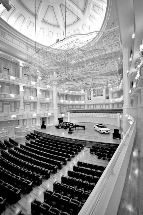 Carmel's Palladium: a spectacular concert hall