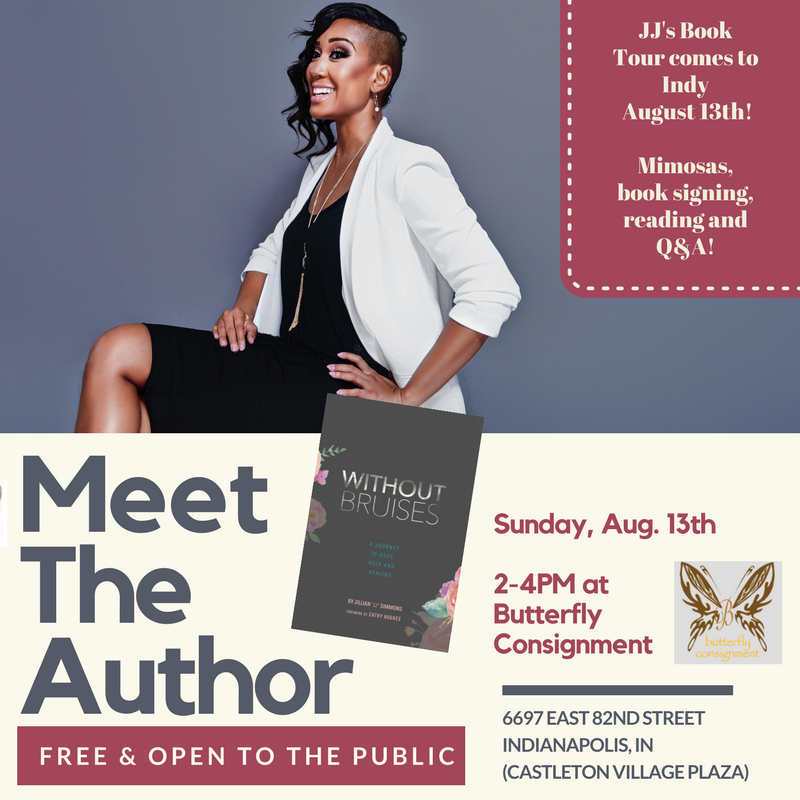 JJ Simmons Book Signing