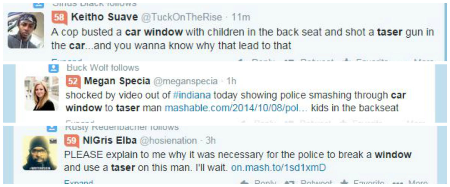 Twitter Reacts to Police Taser Ordeal in Hammond, IN