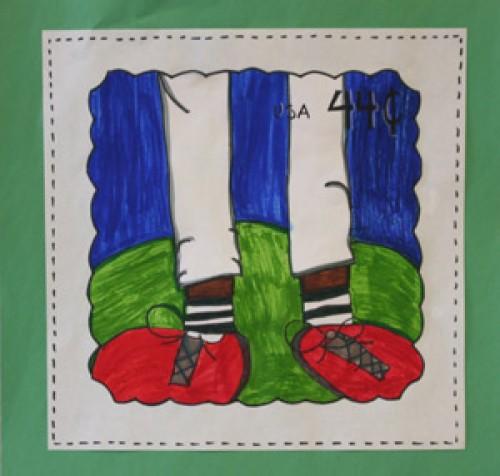 """Youth Category winner """"Baseball Legs"""" by Seline Warrington"""