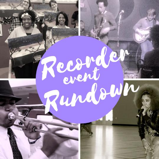 Recorder Event Rundown
