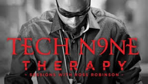 """<p>Therapy Sessions with Ross Robinson is the latest EP from Strange Music star Tech N9ne</p> <p>""""><figcaption class="""