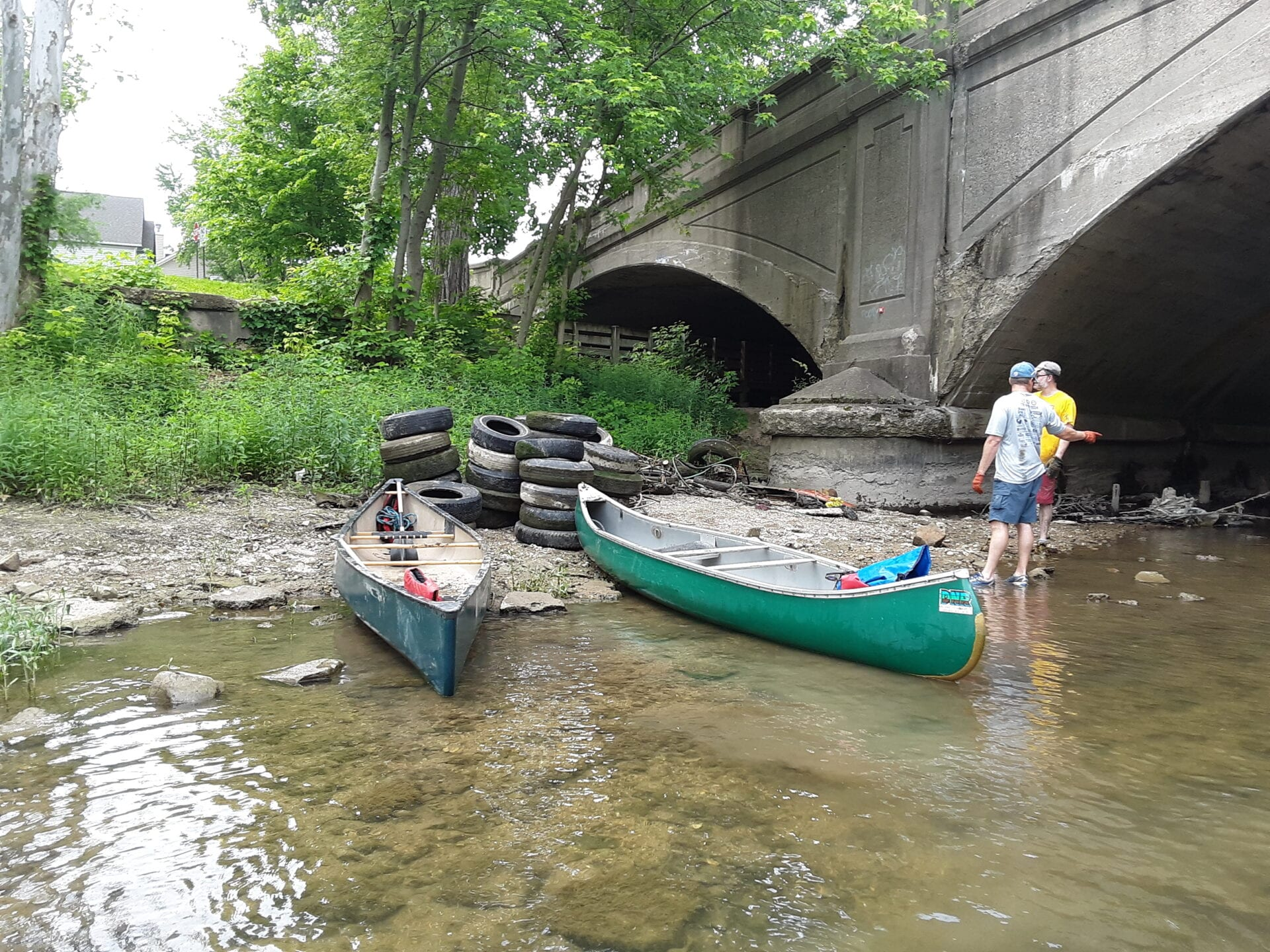 Big or small – anti-litter efforts keep our waterways and communities clean