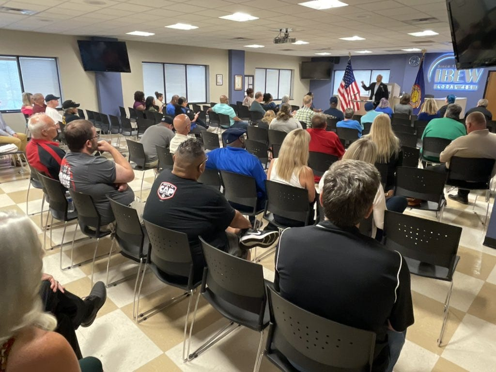Local Democrats praise American Rescue Plan, call for passage of PRO Act